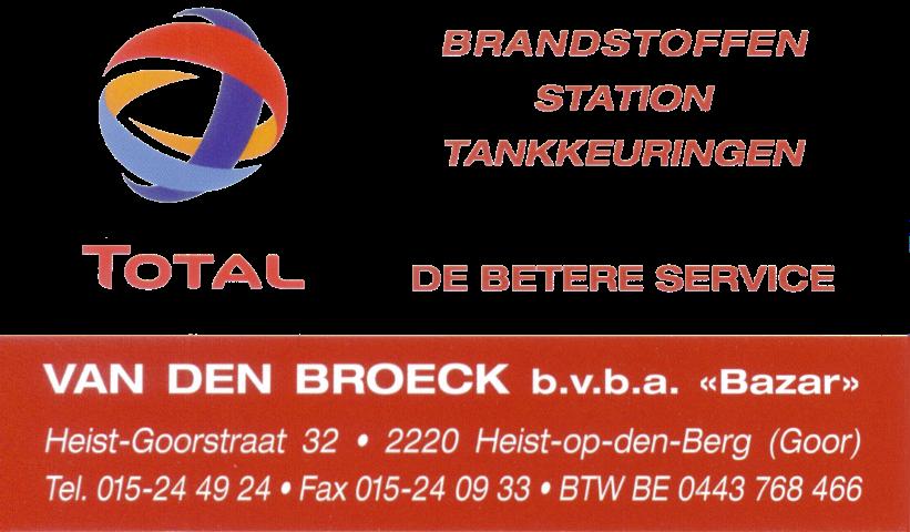 Total Van Den Broeck